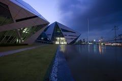 Edificio del diamante de los BU Fotos de archivo