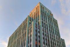 Edificio del este de Columbia en Los Ángeles céntrico Foto de archivo