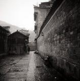 Edificio del estilo chino Fotografía de archivo