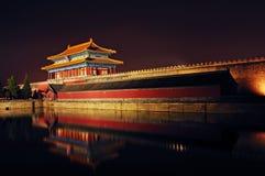 Edificio del estilo chino Fotos de archivo libres de regalías