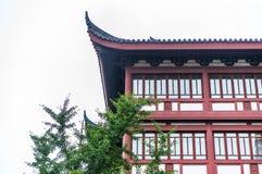 Edificio del estilo chino Imagen de archivo libre de regalías