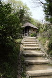 Edificio del estilo de Japón Imagenes de archivo