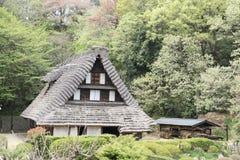 Edificio del estilo de Japón Foto de archivo libre de regalías