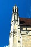Edificio del estilo de la configuración gótica foto de archivo