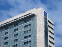 Edificio del estilo del hospital Imagen de archivo libre de regalías