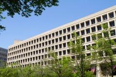 Edificio del FBI Imágenes de archivo libres de regalías