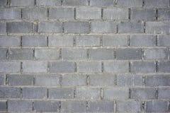 Edificio del fondo de la pared del bloque de cemento Imágenes de archivo libres de regalías