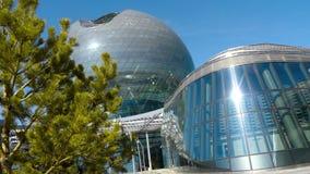 Edificio del globo de la EXPO 2017 metrajes