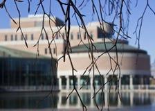 Edificio del gobierno foto de archivo