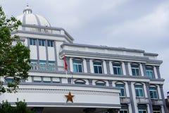 Edificio del gobierno de Wujiang fotografía de archivo