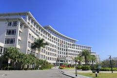 Edificio del gobierno del distrito de Haicang Foto de archivo libre de regalías