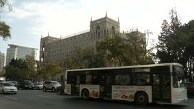 Edificio del gobierno en Azerbaijan, Baku metrajes