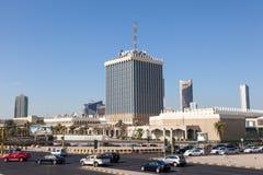 Edificio del gobierno en la ciudad de Kuwait Fotografía de archivo libre de regalías