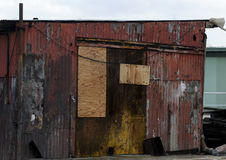 Edificio del Grunge Foto de archivo libre de regalías