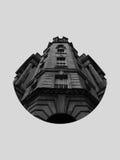 Edificio del hemisferio Imagen de archivo libre de regalías