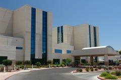 Edificio del hospital Fotografía de archivo libre de regalías