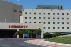 Edificio del hospital de la emergencia Fotos de archivo libres de regalías