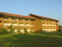 Edificio del hotel fotografía de archivo libre de regalías