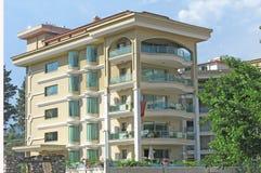 Edificio del hotel de lujo Imágenes de archivo libres de regalías