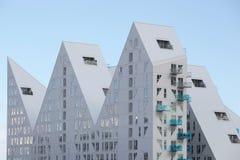 Edificio del iceberg en Aarhus foto de archivo libre de regalías