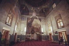 Edificio del Islam e interior antiguos históricos de la ruina de la torre, Bukhara, Uzbekistán fotografía de archivo