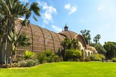 Edificio del jardín botánico Fotografía de archivo libre de regalías