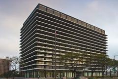 Edificio del John Ferraro a Los Angeles Immagini Stock Libere da Diritti