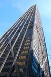 Edificio del John Hancock sull'orizzonte del Chicago Immagine Stock