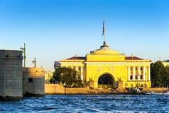 Edificio del Ministerio de marina imagenes de archivo