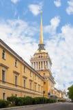 Edificio del Ministerio de marina, St Petersburg Imagen de archivo libre de regalías