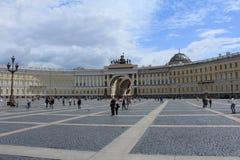 Edificio del Ministerio de marina, St Petersburg Imagenes de archivo