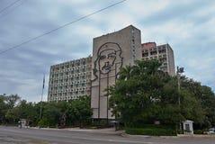 Edificio del Ministerio del Interior en el La La Habana Imagen de archivo libre de regalías