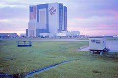 Edificio del montaje del vehículo de espacio, Kennedy Space Center, Cabo Cañaveral, FL Imagen de archivo libre de regalías