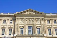 Edificio del museo de la lumbrera, París imagen de archivo libre de regalías