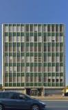 Edificio del negocio del viejo estilo de Berna Suiza Foto de archivo