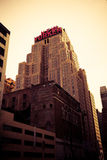 Edificio del neoyorquino, Nueva York Imagen de archivo libre de regalías