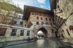Edificio del nuevo complejo de la mezquita en Estambul foto de archivo