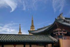 Edificio del Occidental-estilo de Yunnan Dali Dragon City Imágenes de archivo libres de regalías