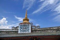 Edificio del Occidental-estilo de Yunnan Dali Dragon City Imagen de archivo