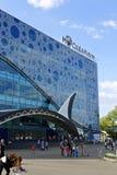Edificio del oceanarium de Moskvarium - de Moscú con los animales marinos Imagen de archivo