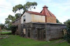 Edificio del país viejo Imagen de archivo libre de regalías