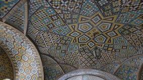 Edificio del palacio de Golestan de Karim Khan de Zand almacen de video