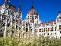 Edificio del parlamento, Budapest, Hungría Foto de archivo libre de regalías