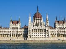 Edificio del parlamento, Budapest, Hungría Fotografía de archivo libre de regalías