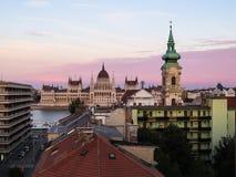 Edificio del parlamento, Budapest, Hungría Fotos de archivo