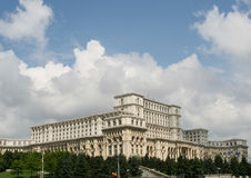 Edificio del parlamento de Bucha foto de archivo libre de regalías