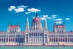 Edificio del parlamento de Budapest Foto de archivo libre de regalías