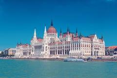 Edificio del parlamento de Budapest Fotografía de archivo