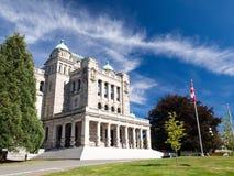 Edificio del parlamento de la Columbia Británica Fotos de archivo libres de regalías