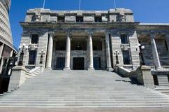 El parlamento de Nueva Zelanda Imagen de archivo